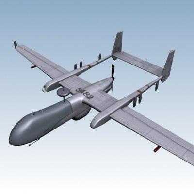 eagle1 plane 3d model