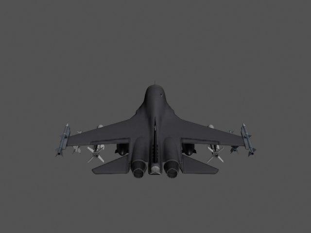 unrecognized plane 3d model