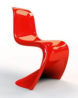 3d model baydur chair