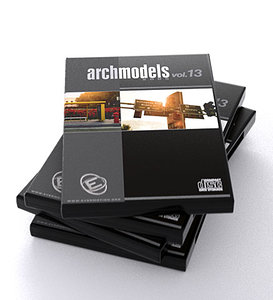 3ds max archmodels 13 architectural street