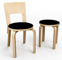 3ds max chair 66 stool alvar aalto