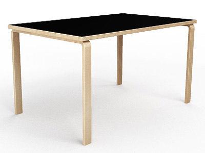 aalto 82b alvar table 3d model