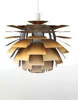 ph artichoke lamp 3d model