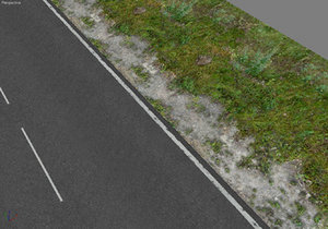 3d 3 tileable road