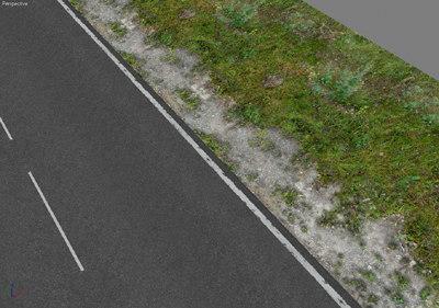 3d 3 tileable road