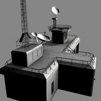 command control station 3d model
