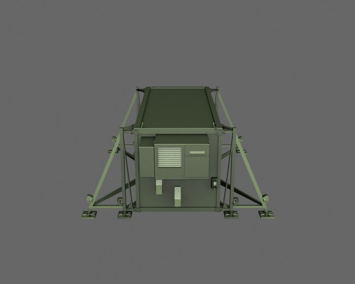 small control container 3d model
