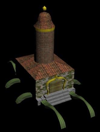 building monastery model
