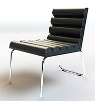 3d chicago chair model