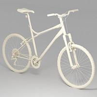 cross-bike bicycle 3d model