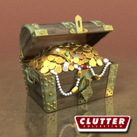 Novelty-Treasure Chest 001