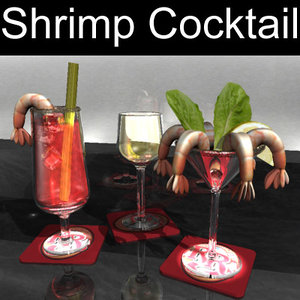 3d shrimp cocktail