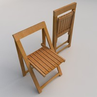 3d model of chair realtime architecture