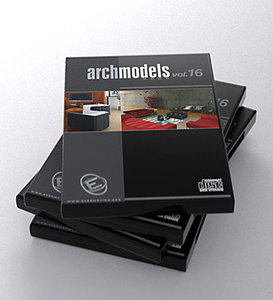 archmodels 16 architectural furniture 3d model