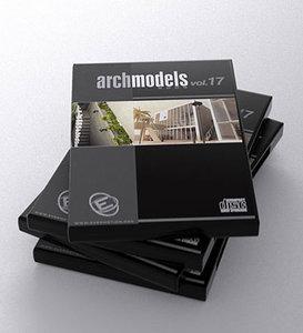 archmodels 17 exterior houses 3d model
