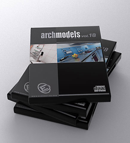 archmodels 18 3d model