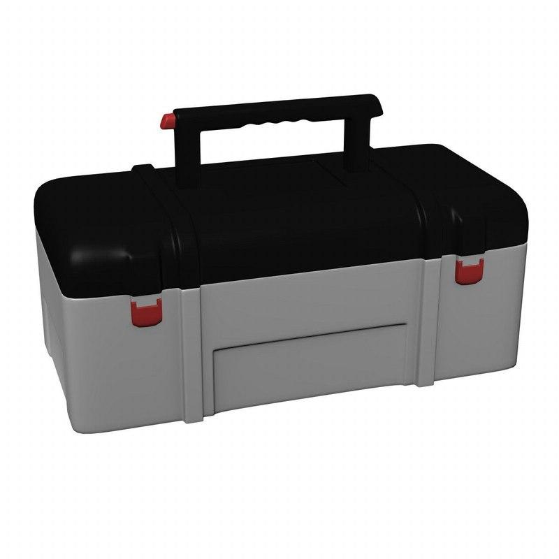 toolbox tool box 3d model