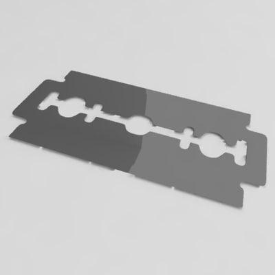 razor blade 3ds