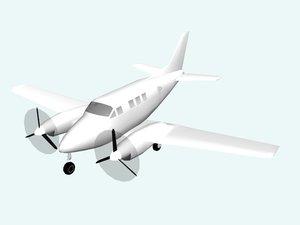 3d model plane avion