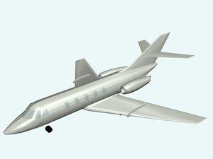 3ds max jet plane