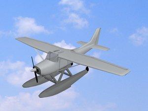 plane avion boing 3d model