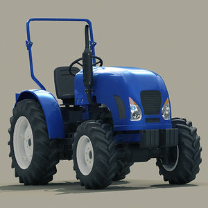 3d tractor truck agrimotor model