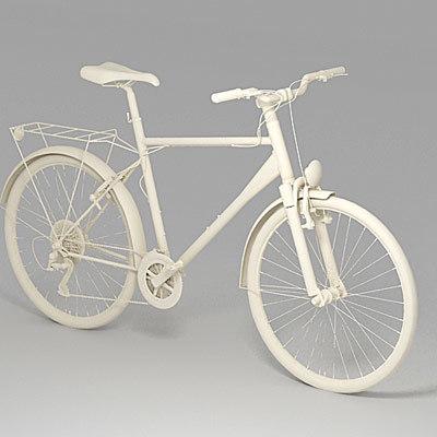 3d model cross-bike bicycle