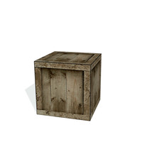 free 3ds model wooden crate