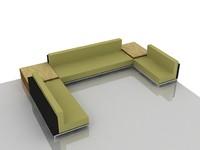 Sofa kaki.skp