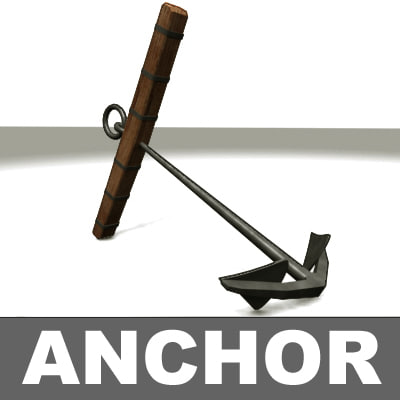 anchor 3d max