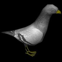 3ds max pigeon x