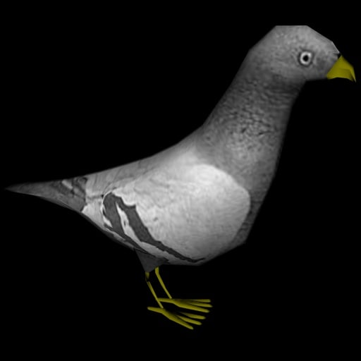 3ds max pigeon x