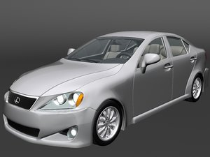 lexus is220d 3d model