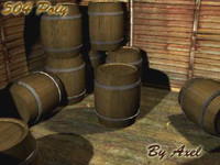 max wooden cask