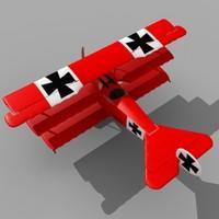 Fokker Dr. I Red Baron