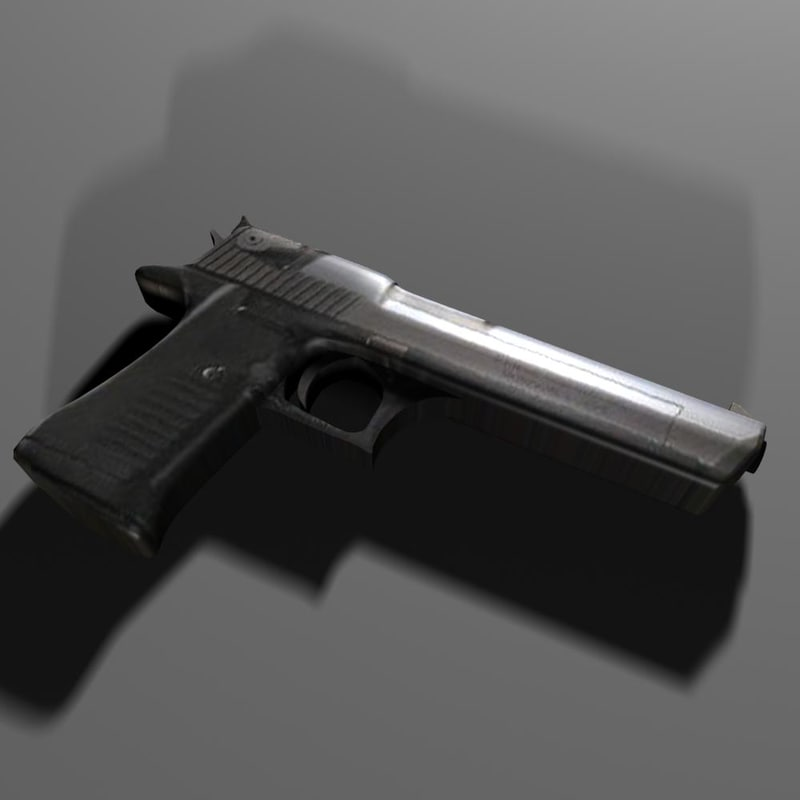 3ds max desert eagle
