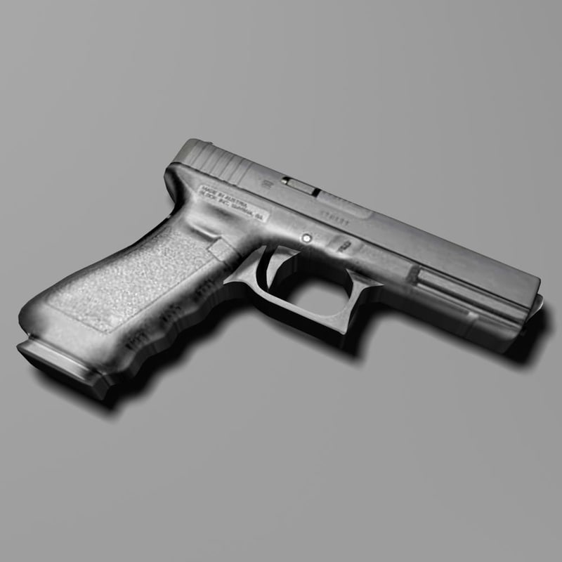 obj glock pistol weapon