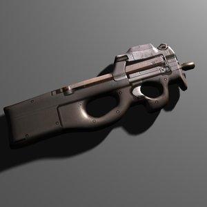 3d model p90