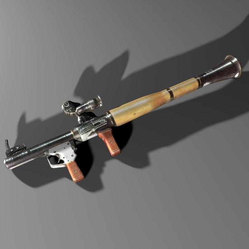 weapons artillery 3d max