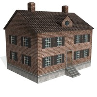 Brick Federalist House