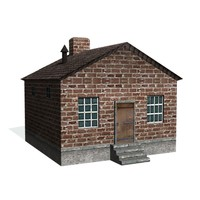 historical laboratory factory buildings 3d model