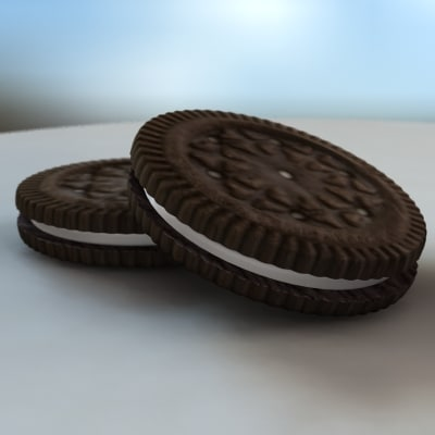 cookie 3d max