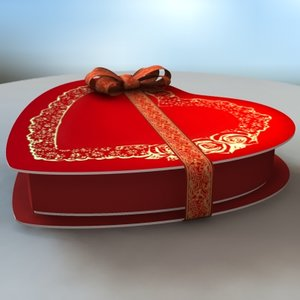 3ds max valentine candy