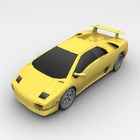 3d model vehicle lamborghini
