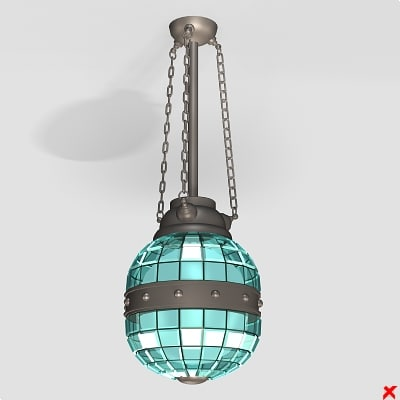 3d lamp light