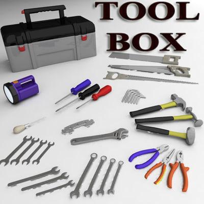 3d toolbox set