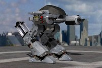 3ds max ed 209 robocop aluminium