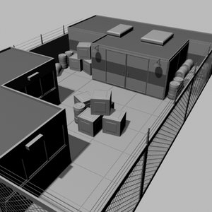 3d model storage buildings
