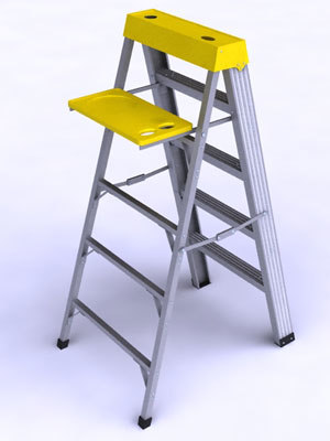 3dsmax ladder tool place