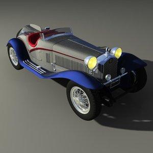 3d alfa romeo 2300 model